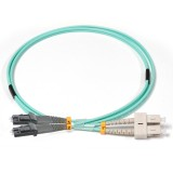 SC-MTRJ Duplex 10Gb OM3 50/125 Multimode Fiber Patch Cable