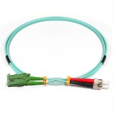 ST-E2000 Duplex 10Gb OM3 50/125 Multimode Fiber Patch Cable