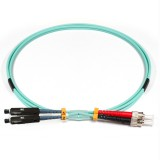 ST-MU Duplex 10Gb OM3 50/125 Multimode Fiber Patch Cable