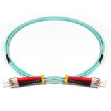 ST-ST Duplex 10Gb OM3 50/125 Multimode Fiber Patch Cable
