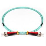 ST-ST Duplex 10Gb OM3 50/125 Multimode Fiber Patch Cable