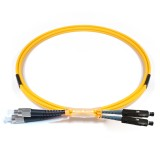 FC-MU Duplex OS1 9/125 Singlemode Fiber Patch Cable