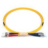 FC-ST Duplex OS1 9/125 Singlemode Fiber Patch Cable