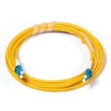 LC-LC Duplex OS1 9/125 Singlemode Fiber Patch Cable