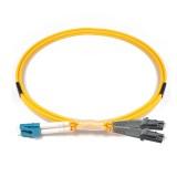 LC-MTRL Duplex OS1 9/125 Singlemode Fiber Patch Cable
