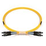MU-MU Duplex OS1 9/125 Singlemode Fiber Patch Cable