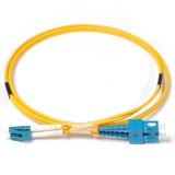 SC-LC Duplex OS1 9/125 Singlemode Fiber Patch Cable