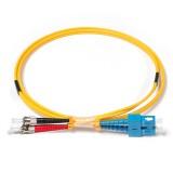 SC-ST Duplex OS1 9/125 Singlemode Fiber Patch Cable