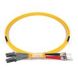 ST-MTRJ Duplex OS1 9/125 Singlemode Fiber Patch Cable