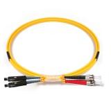 ST-MU Duplex OS1 9/125 Singlemode Fiber Patch Cable