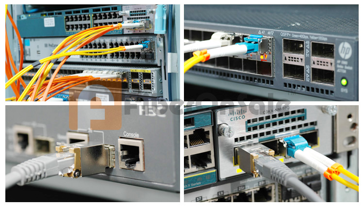 FiberOnSale fiber optical Transceivers Compatible & Application Test
